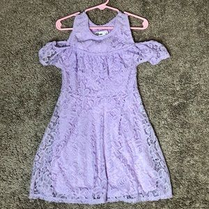 NWOT Purple Toddler Dress size 5 EPIC Threads